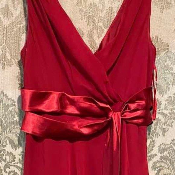 Jones Wear Dresses & Skirts - Jones Wear Burgundy Bridesmaid/Cocktail Dress, 10